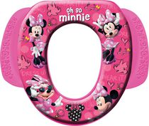 Disney Mickey and Minnie Soft Minnie Mouse Potty Seat with Handles